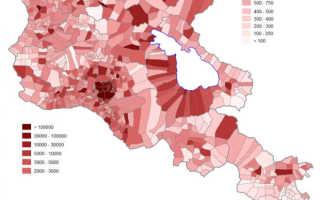 Население Армении и статистическая информация