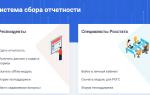 Система сбора отчетов Websbor.gks.ru