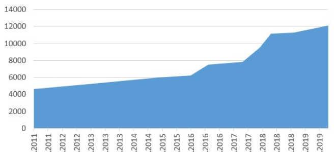 Минимальный размер оплаты труда 2020 в России и статистика за прошлый период